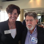 Picture of Marlene Spalten, Community Foundation of Tampa Bay and Dick Reeves, Economic Club of Tampa Member